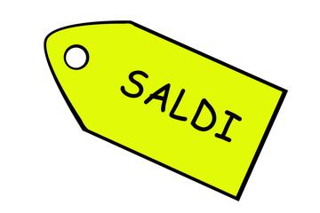 Sale pricetag, italian