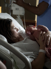 USA, Utah, Payson, Childbirth in hospital