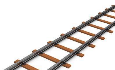 Die Gleisschienen