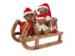 Santa Teddy Bears
