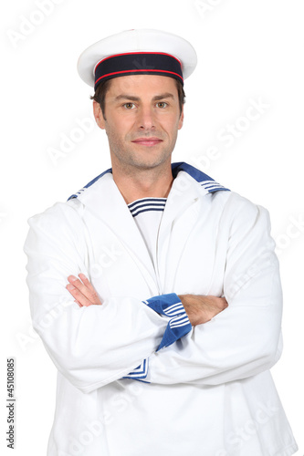 Man in a sailor's costume