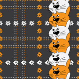 patterns of cats tartan