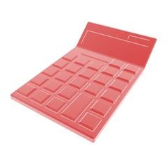 calculator red