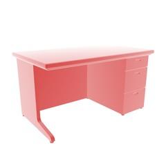 desk red