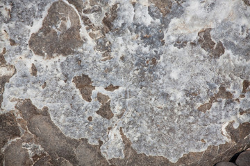 Surface of the brown stone