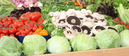 A Bright Display of Fresh and Healthy Vegetables.