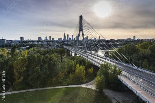 Panorama Warszawy w Polsce