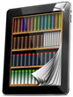 Tablet Pages Bookcase