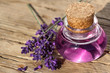 Wellness with lavender essence