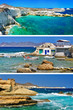 travel in Greek islands series -  Milos
