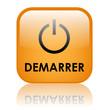 """Bouton Web """"DEMARRER"""" (démarrage cliquer ici lecture lancer go)"""