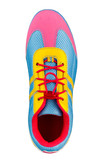Colorful sport shoe