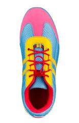 Colorful sport shoe