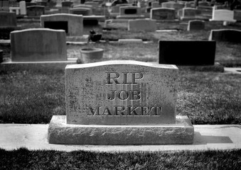 Gravestone for Job Market