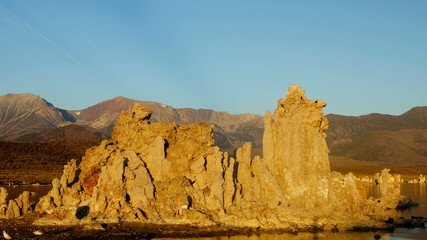 Mono Lake int morning, time-lapse