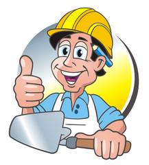Bricklayer Thumb up