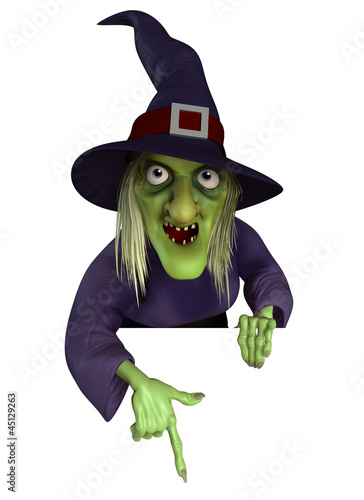 Keuken foto achterwand Sweet Monsters witch