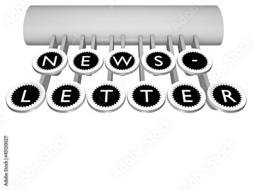 Newsletter_Tastatur - 3D