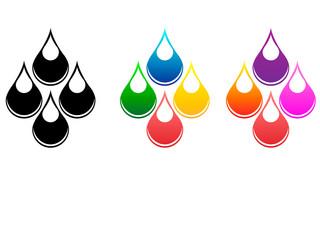 Drops of fluids
