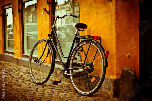 rower-klasyczne-retro-miasta-w-kopenhadze-dania