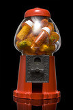 gumball machine full of pills