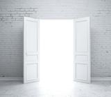 Fototapety open door