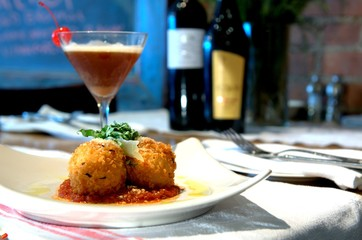 Stuffed Risotto Balls