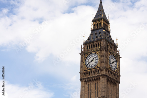 Big Ben (Palace of Westminster clock tower), London, UK