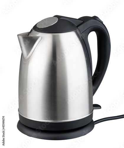 Nice modern design kettle water boiler isolated