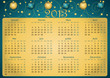 Calendrier 2013 simple - facilement éditable