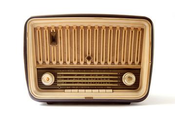 Radio - Vintage - sfondo bianco