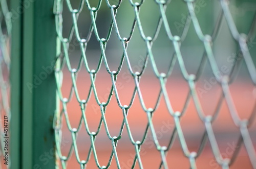 wire mesh background