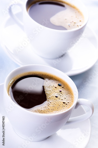 cups of black coffee