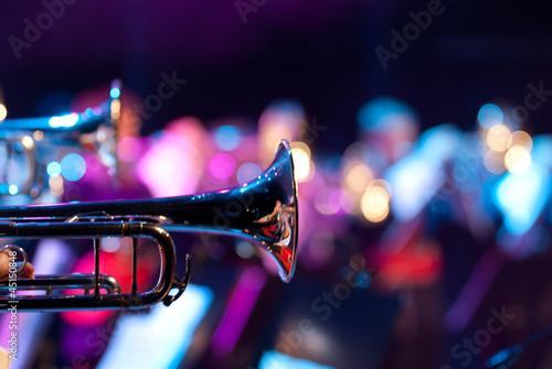 Leinwanddruck Bild Details from a showband