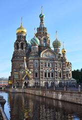 Собор Спаса на крови в Санкт-Петербурге.