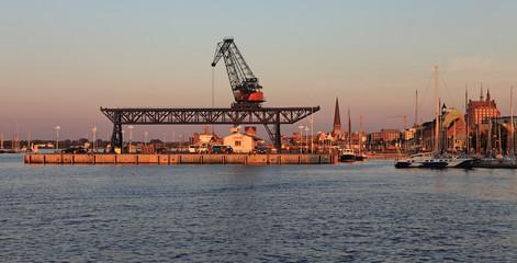 Stadthafen von Rostock