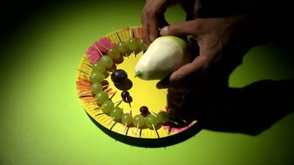 фруктовый ёжик