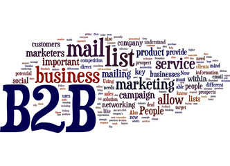 B2B Business Concept