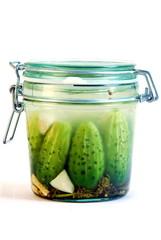 Ogórki kiszone Pickles Pickled cucumbers