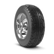 3d Car wheel with tyre