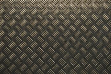 chekered aluminum metal texture