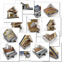 Maison construction batiment