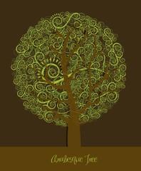 arabesques tree