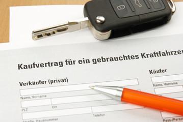 Kaufvertrag gebrauchtes KFZ