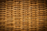 Fototapety Brown wicker texture background made from basket