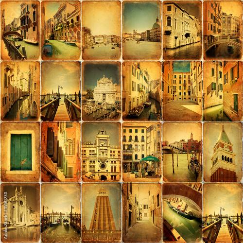 Kolaż - Wenecja