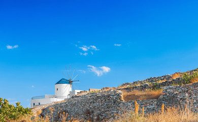 Windmill in Sifnos