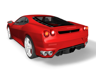 Sport car illustration