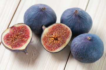 Still life food: figs