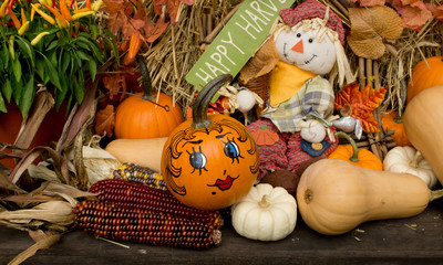 Fall (Autumn) decoration
